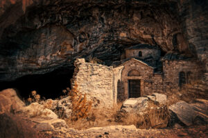 Church in the cave
